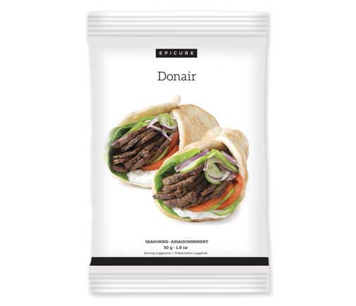 Donair Seasoning (Pkg of 3)