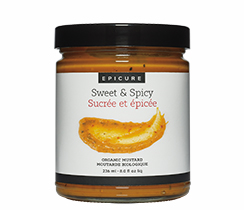 Sweet & Spicy Organic Mustard