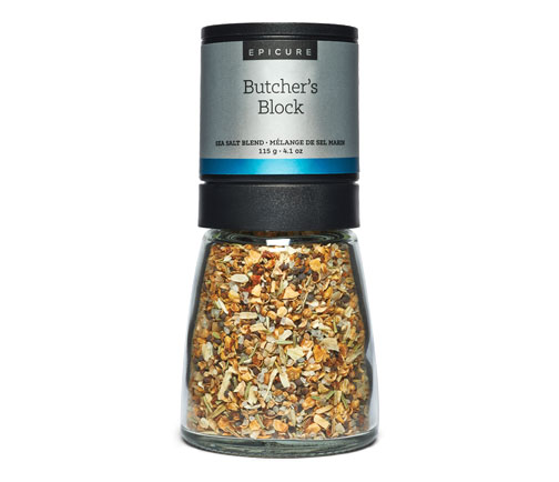 Butcher's Block Sea Salt Blend Grinder