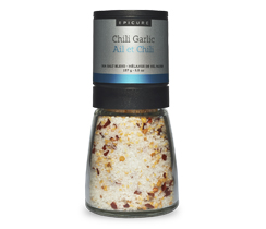 Chili Garlic Sea Salt (Grinder)