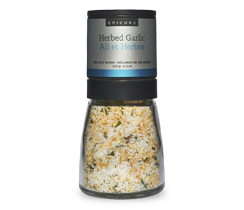 Herbed Garlic Sea Salt (Grinder)