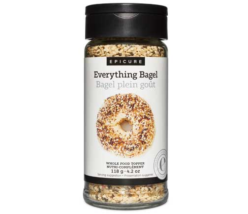 Everything Bagel Whole Food Topper