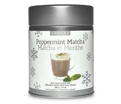 Peppermint Matcha Hot Chocolate Mix