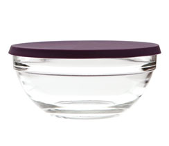 4-Cup Prep Bowl with Silicone Lid