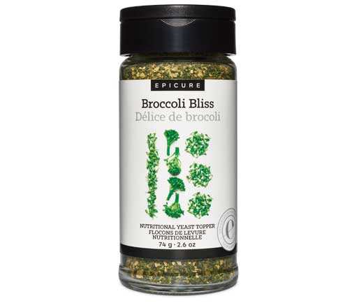 Broccoli Bliss Nutritional Yeast Topper