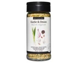 Garlic Onion Nutritional Yeast Topper