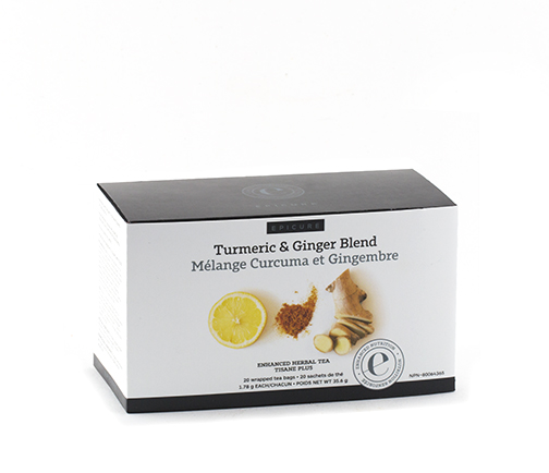 Turmeric & Ginger Enhanced Herbal Tea