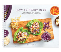 Raw to Ready Cookbook in 20 EN