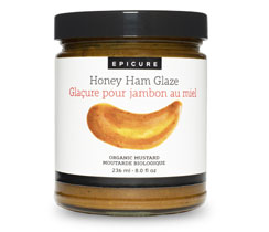 Honey Ham Glaze Organic Mustard