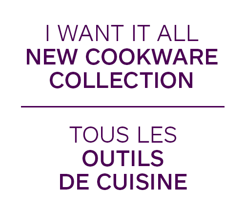 I Want It All New Cookware Collection
