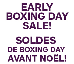Early Boxing Day Sale