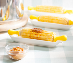 Corn on the Cob with Chipotle Lime Butter