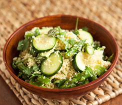 Moroccan Green Couscous Salad