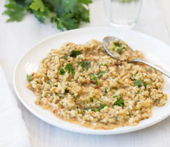 Herb and Cheese Risotto
