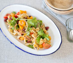 Mexican Pasta Salad with Tex-Mex Dressing