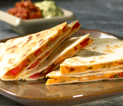 Cheese and Pepper Quesadillas