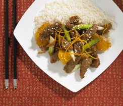Beef and Orange Oriental Stir-fry