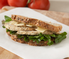 Parmesan and Dijon Mustard Chicken Sandwich
