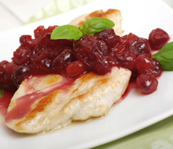 Maple Cranberry Chicken Breasts