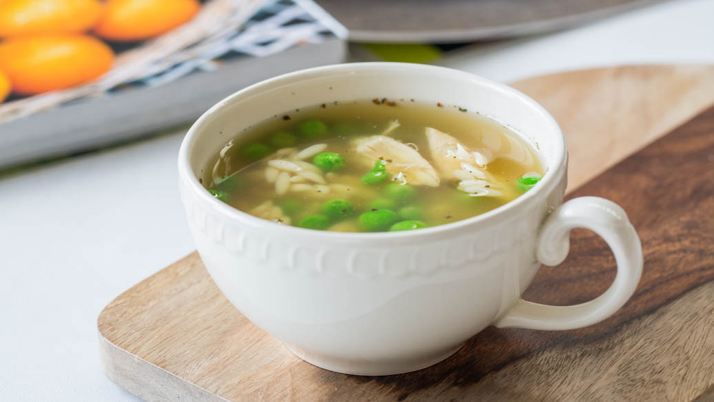 Chicken Vegetable Soup with Stars