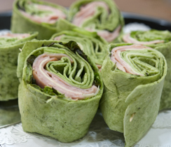 Turkey Tortilla Pinwheels