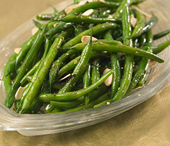 Steamer Green Bean Salad with Almonds