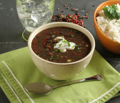 Fast and Spicy Bean Soup