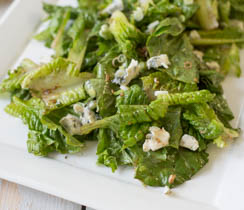 Romaine and Blue Cheese Salad