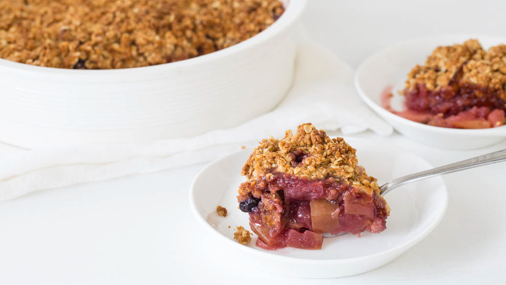 Apple Berry Crumble