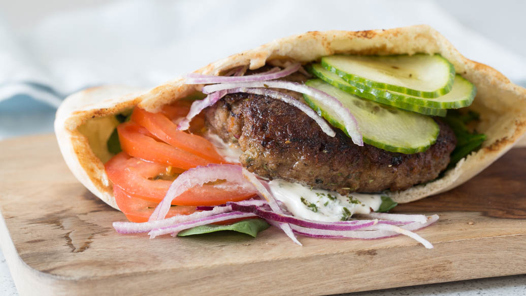 Greek Gyro Burgers