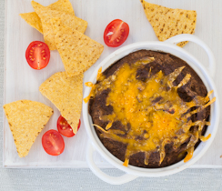 Hot Black Bean Dip