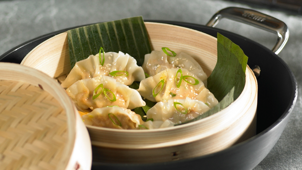 Gyoza - Steamed Dumplings or Potstickers