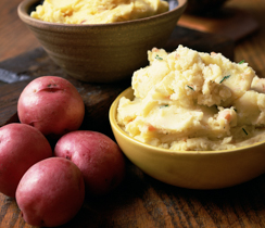 Onion and Garlic Mashed Potatoes