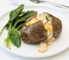 Southwest Popcorn Potato Dinner Jacket Potatoes