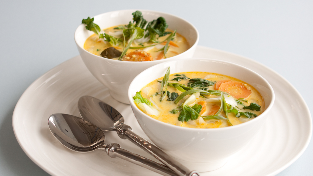 Malaysian coconut curry soup epicure malaysian coconut curry soup forumfinder Choice Image