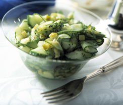 Thai Sweet and Sour Cucumber Salad