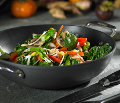 Stir-fried Vegetables with Almonds