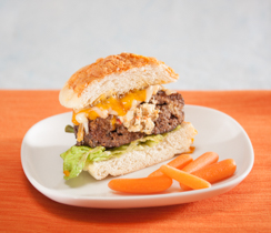 Cheese-buster Burgers