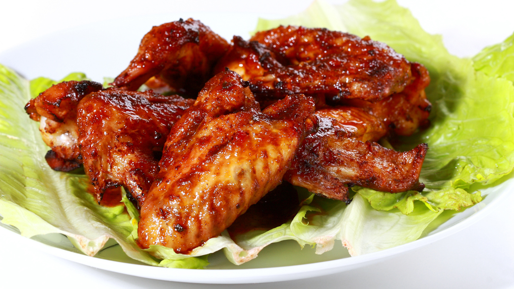 Tangy Teriyaki Chicken Wings