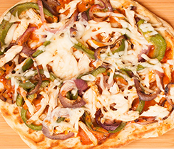 Southwest Grilled Chicken Pizza