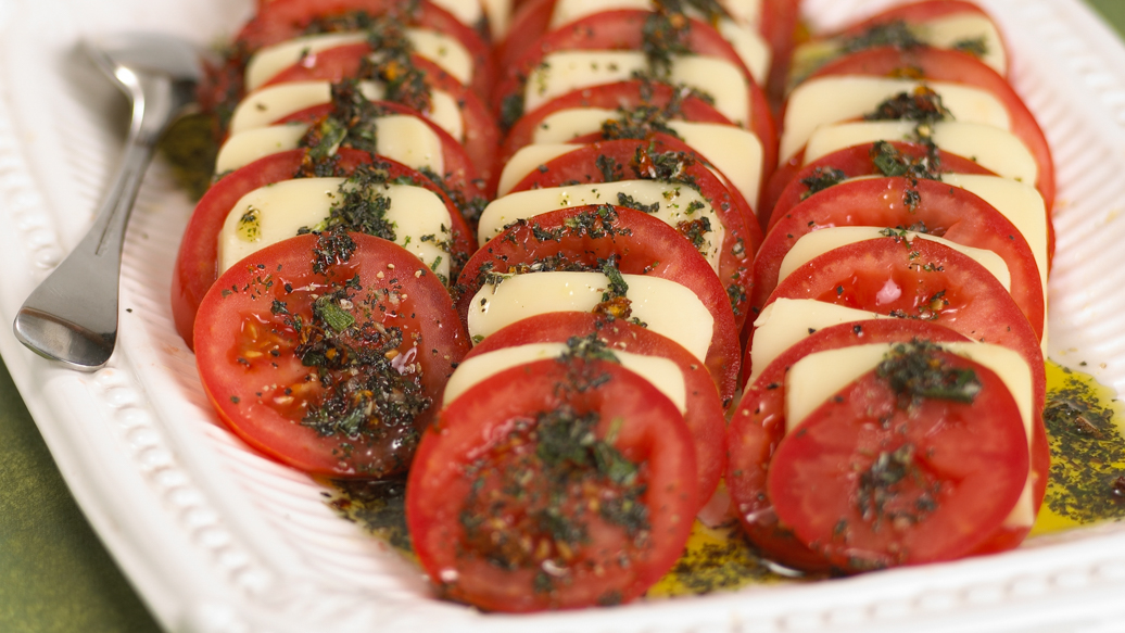 Mozzarella and Tomato Antipasti