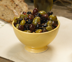 Rustic Marinated Olives