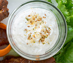 Cheese, Chives & Bacon Dip