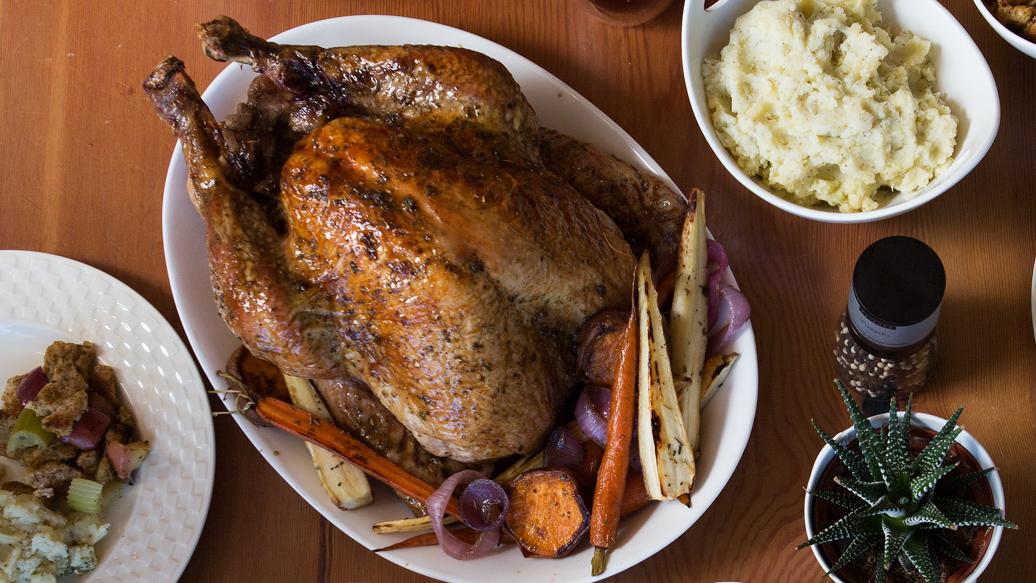 Easy Whole Roast Turkey | Epicure.com