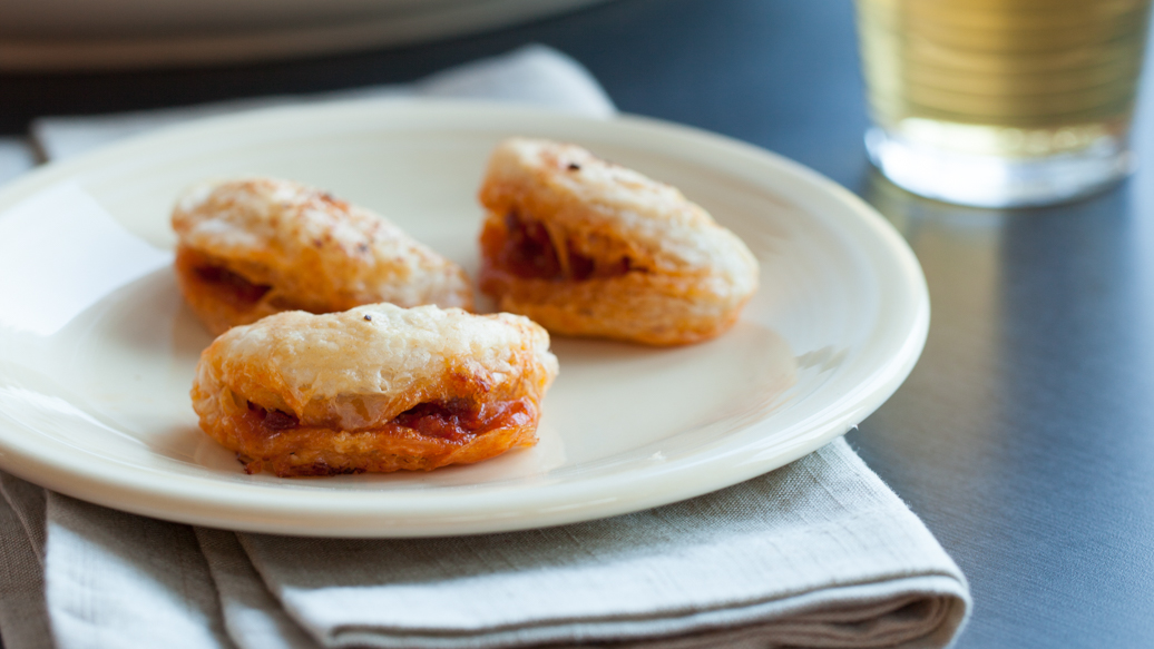 Cheese and Chorizo Puffs
