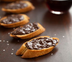 Chocolate Crostinis
