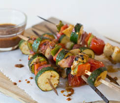 Easy Vegetable Skewers