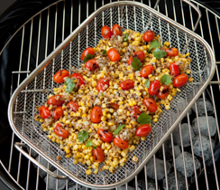 Big Batch Grilled Corn Salsa