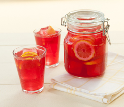 Sparkling Ruby Lemonade