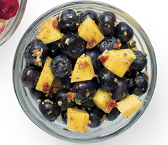 Mango and Blueberry Salsa